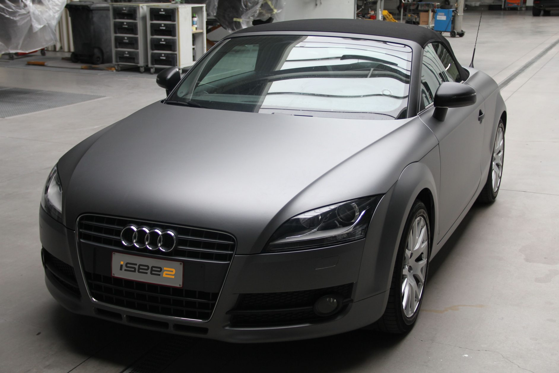 iSee2 Anthracite Grey wrapping film